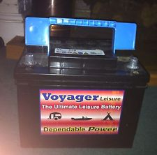 Voyager Leisure Battery – 12V, 85 Amp Hours – ideal for camping or caravans