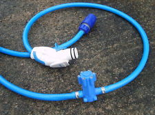 Caravan Mains Water Adaptor - Complete with storage Bag