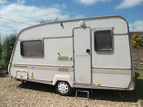 Bailey Discovery 2 Berth Touring Caravan Spare Wheels