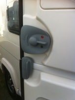 Caravan mobile home motorhome campervan used door locks