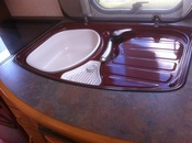 Sinks for replacement in caravans