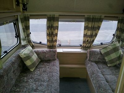 Great Seats From A 1993 Lunar Ariane 6 Berth Touring Caravan