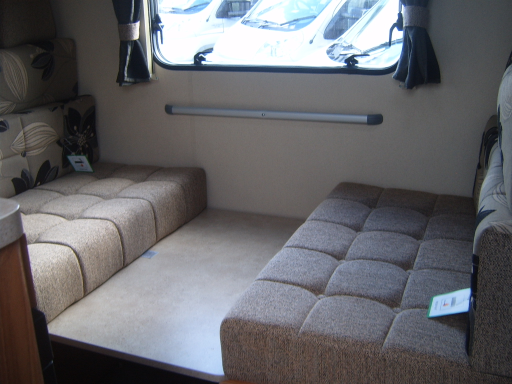 Caravan grab rails in Lancashire