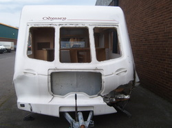 The first caravan we ever scraped.