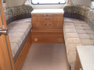 Adria caravan centre chest of draws