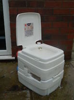 LaPLAYA Chemical Toilet suitable for caravan, camping, boat