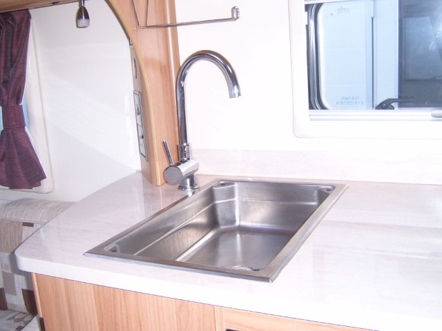 Abbey Caravan Kitchen Taps